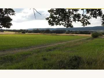 Ackerbau in Strögen